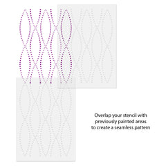 CraftStar Lattice Stencil Use Guide