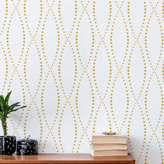 CraftStar Lattice Wall Stencil