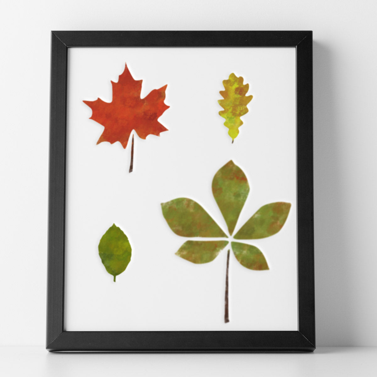CraftStar Leaf Stencil Set - Autumnal Look