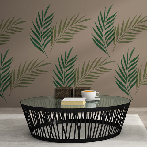 CraftStar Palm Leaf Wall Stencil