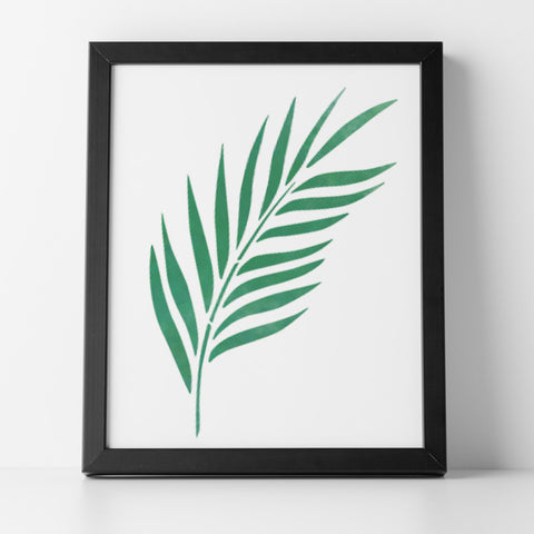 CraftStar Palm Leaf Stencil