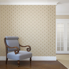 Scallop Repeating Pattern Wall Stencil