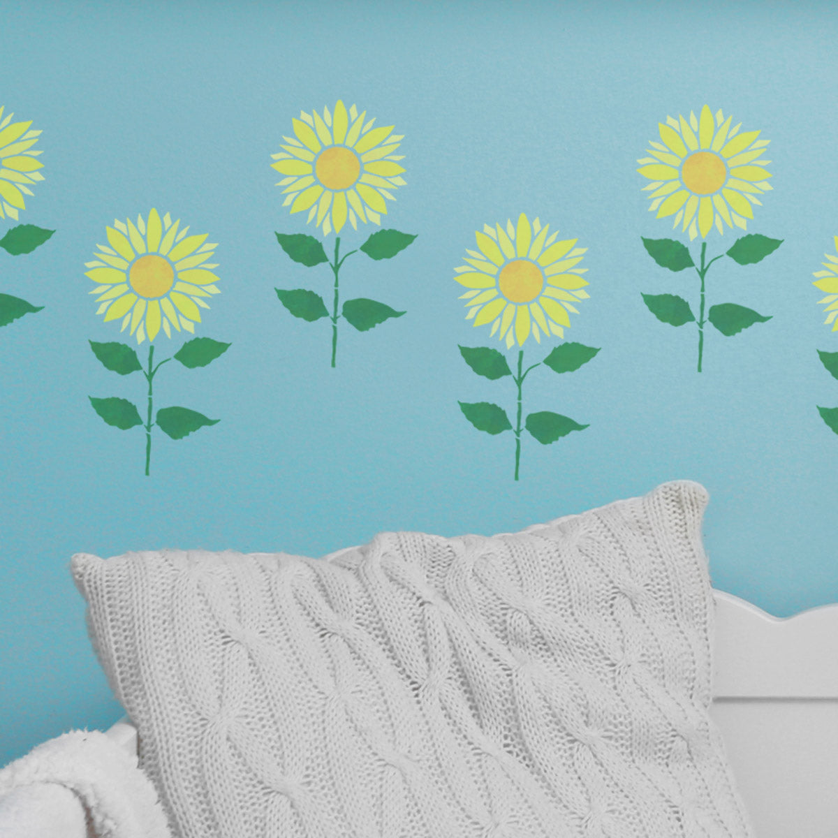 CraftStar Sunflower Plant Stencil