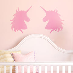CraftStar Unicorn Stencil in nursery