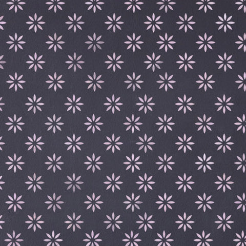 CraftStar 5 cm Flower Pattern Wall Stencil Close Up View