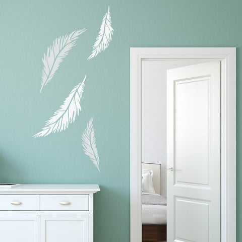CraftStar Feather Stencil Examples