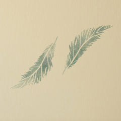 CraftStar Feather Stencil