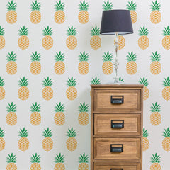 CraftStar Pineapple Repeating Pattern Stencil