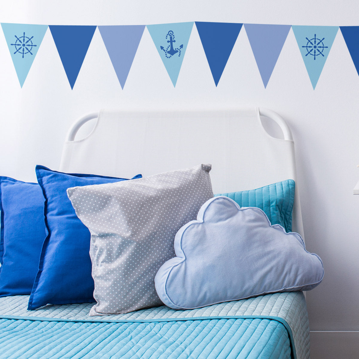 CraftStar Seaside Bunting Stencil Set