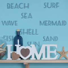 CraftStar Seaside Words Stencil