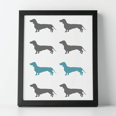 Dachshund Dog Stencil Set