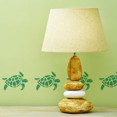 Craftstar Turtle Stencil in green