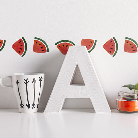 CraftStar Watermelon Border Stencil