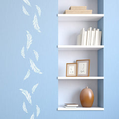 CraftStar Small Feather Stencil - Wall
