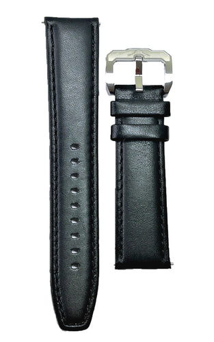 Leather Strap Black 01