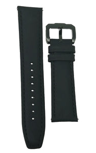 Leather Strap Black 04