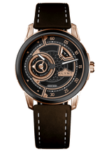 Elegance Contemporaine Watch EC-03 GOLD & BLACK