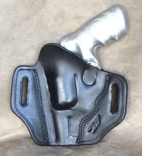 Ruger Redhawk Alaskan Two Slot Pancake (TSP) Leather Holster