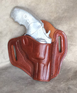 Ruger SP101 Two Slot Pancake (TSP) Leather Holster