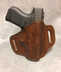 Glock 43 Pancake (TSP) Leather Holster