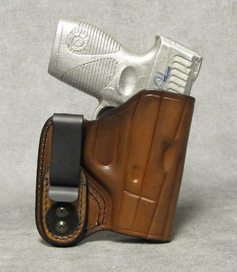 Taurus 709 Slim IWB Leather Holster - Brown