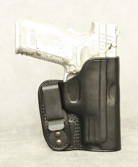 Springfield XD(M) 3.8 IWB Leather Holster - Black