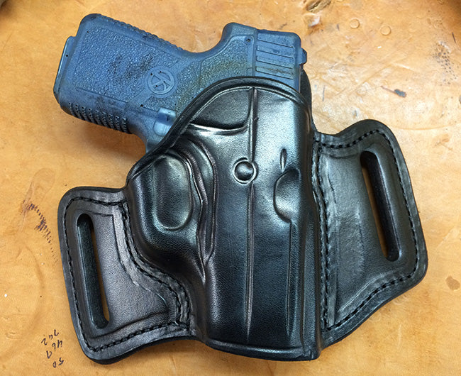 Kahr P380 Two Slot Pancake (TSP) Leather Holster