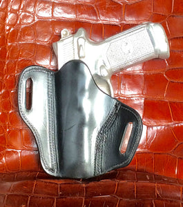 FNP-45 Two Slot Pancake (TSP) Leather Holster