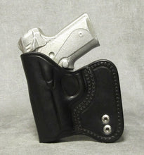Kimber Solo (Crimson Trace) IWB Leather Holster - Black