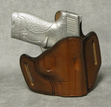 Smith & Wesson M&P Shield (Crimson Trace) Leather Pancake Holster