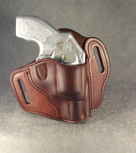 Smith & Wesson K Frame OWB Custom Pancake Leather Holster