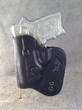 Smith & Wesson Body Guard 380 IWB Concealed Tuckable Custom Leather Holster