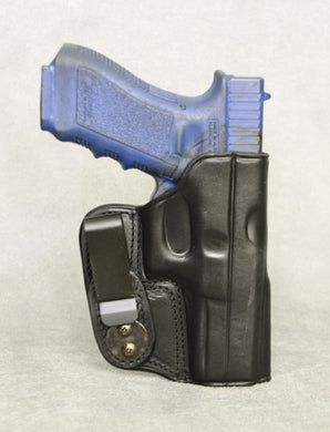 Glock 31 IWB Leather Holster - Black