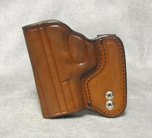 Walther PK380 IWB Leather Holster - Brown