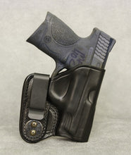 Smith & Wesson M&P .40 Compact IWB Leather Holster - Black