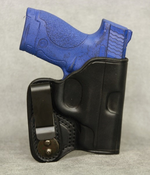 Smith & Wesson M&P Shield IWB Leather Holster - Black