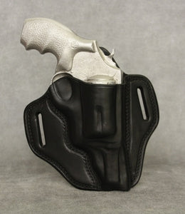 Smith & Wesson Governor Leather Pancake Holster - Black
