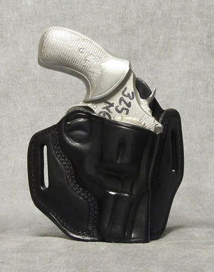 Smith & Wesson N Frame TWO SLOT PANCAKE (TSP) Leather Holster