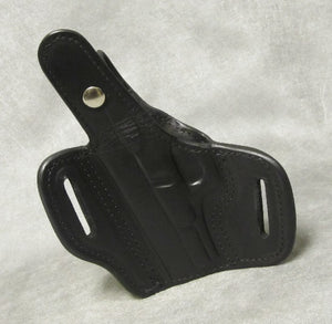 Glock 19 Pancake Holster w/ Thumb Break - Black
