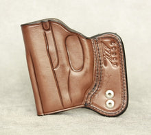 Ruger LC9 IWB Leather Holster - Brown
