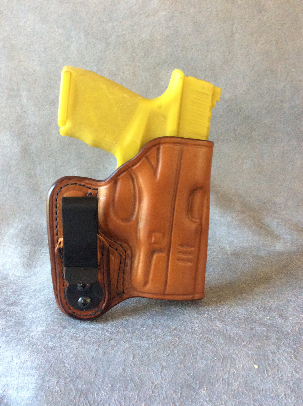 Springfield Armory Hellcat IWB Concealed Tuckable Custom Leather Holster