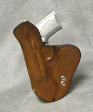 Kimber Solo (Crimson Trace) IWB Leather Holster w/ Sweat Shield - Brown