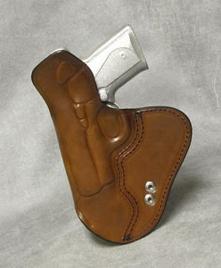 Kimber Solo IWB Leather Holster w/ Sweat Shield