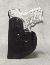 Springfield XD-S 2 POSITION w/Crimson Trace Leather Holster