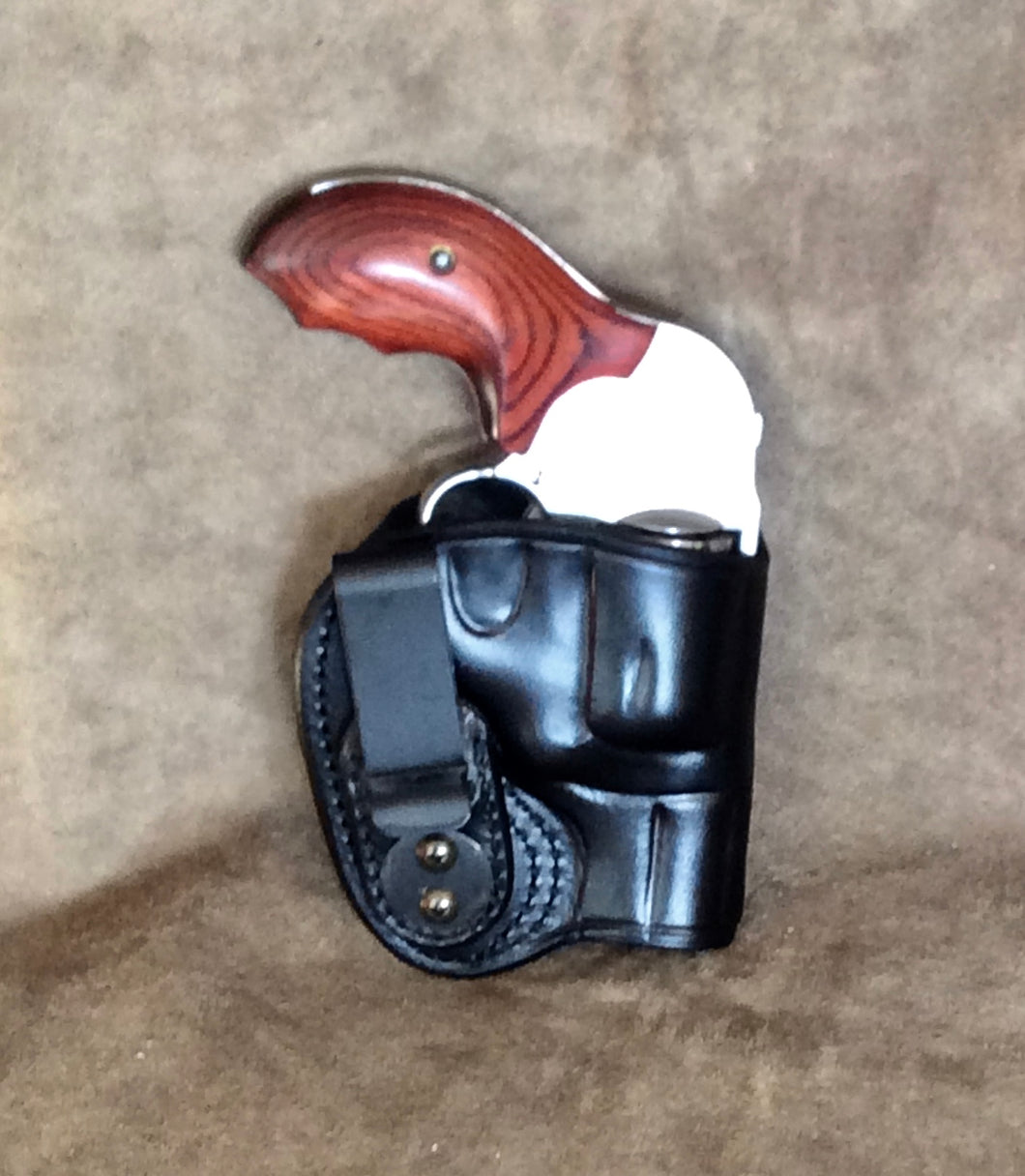 Smith & Wesson J Frame IWB Leather Holster