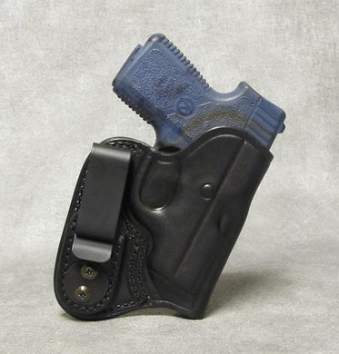 Kahr P380 IWB Leather Holster - Black