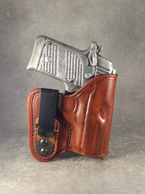 Springfield Armory 911 IWB Concealed Tuckable Leather Holster