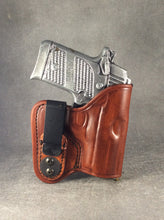 Springfield Armory 911 380 IWB Concealed Tuckable Custom Leather Holster