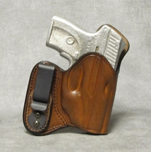 Ruger LC9 IWB w/ Sweat Shield Leather Holster - Brown