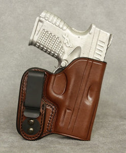 Springfield XDs IWB Leather Holster - Brown